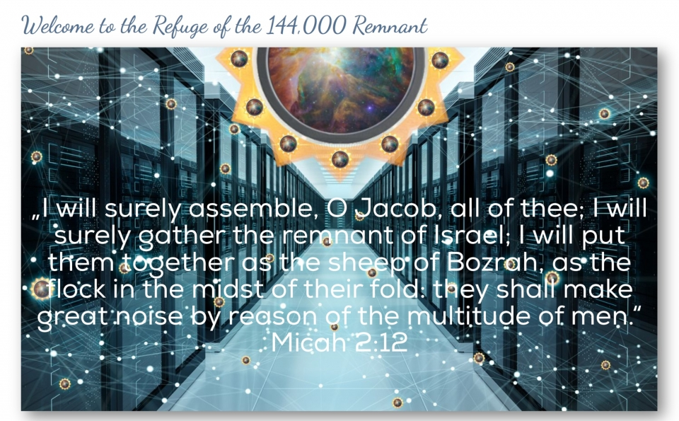 I will surely assemble, O Jacob, all of thee; I will surely gather the remnant of Israel; I will put them together as the sheep of Bozrah, as the flock in the midst of their fold: they shall make great noise by reason of the multitude of men. Micah 2:12